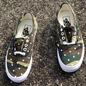 Vans Authentic Camo Sneaker
